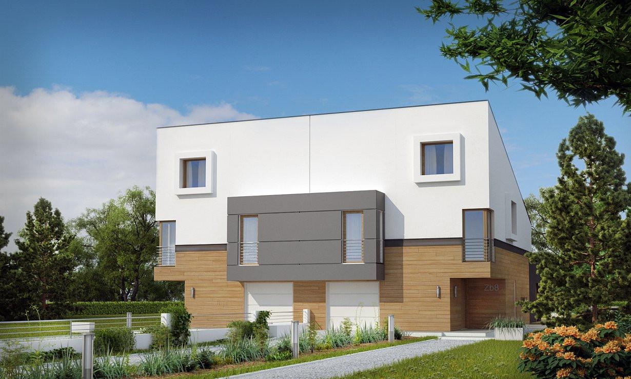 Проект дома 013N (фото фасада 2)