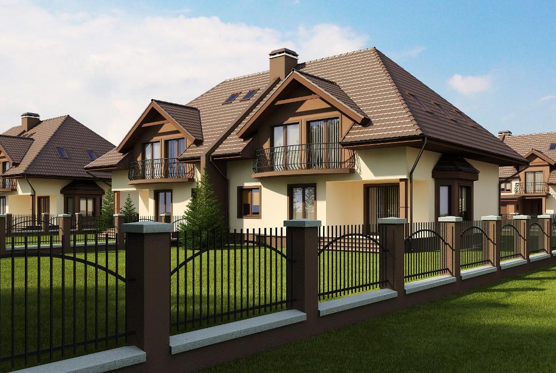 Проект дома 014N (фото фасада 2)