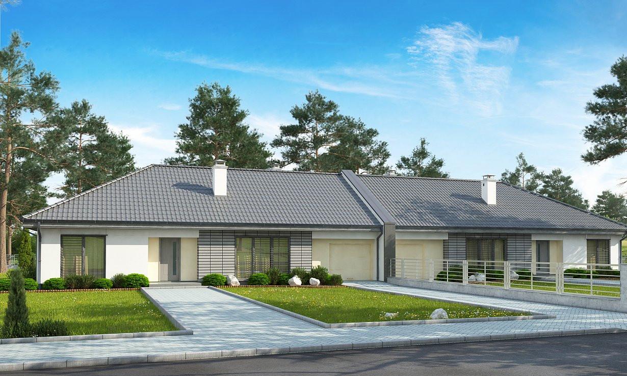 Проект дома 022N (фото фасада 2)