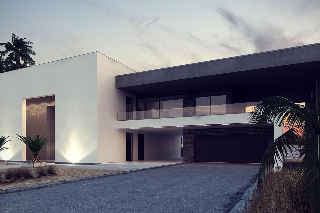 Проект дома 047N (фото фасада 2)