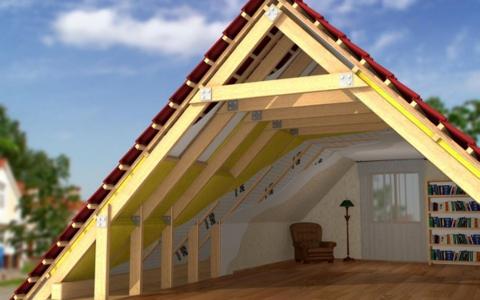 постройка крыши и мансарды
