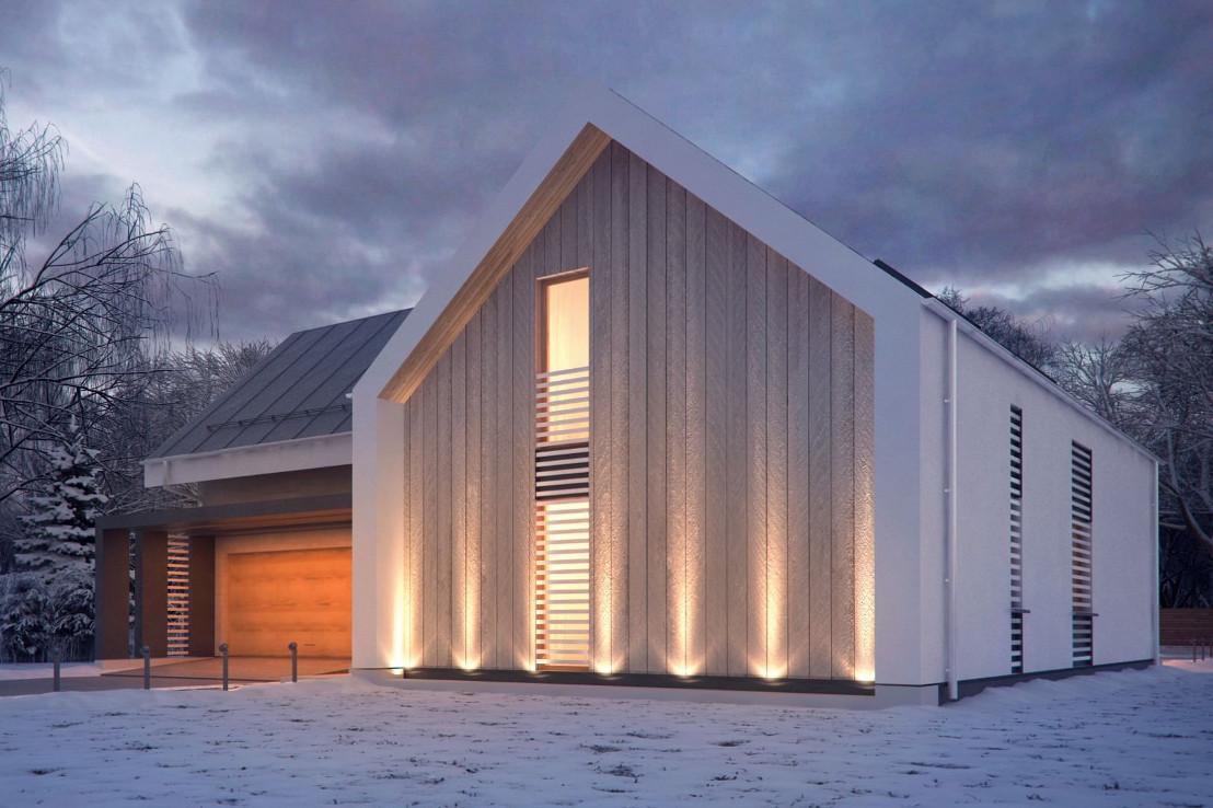 Проект дома 067N (фото фасада 4)