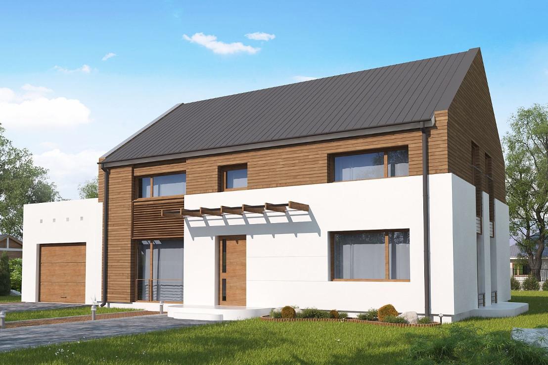 Проект дома 069N (фото фасада 1)