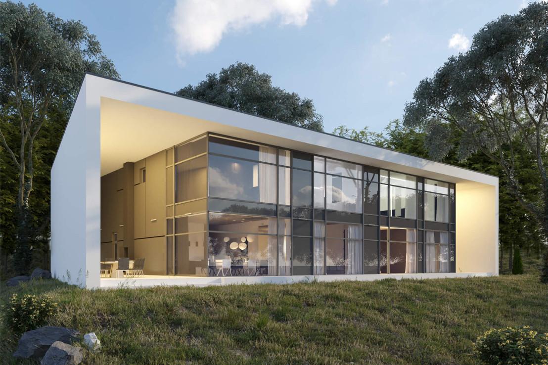 Проект дома 078N (фото фасада 1)