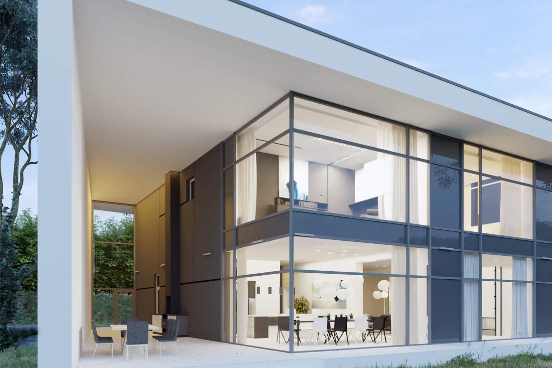 Проект дома 078N (фото фасада 3)