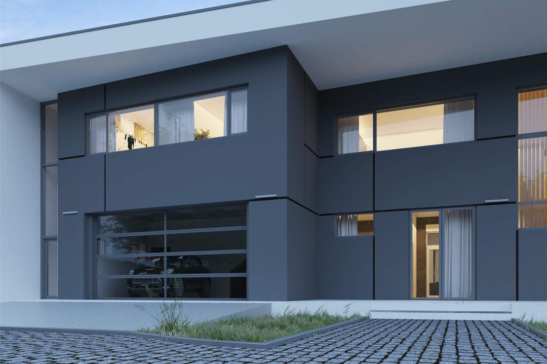 Проект дома 078N (фото фасада 4)